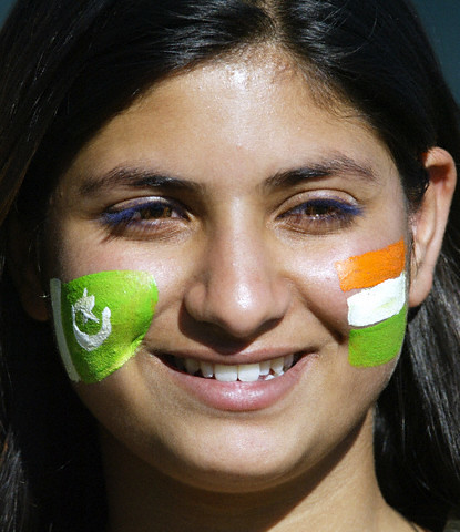 Pakistani+flag+on+face