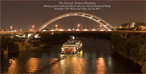 cumberlandriver nashvilletn roncogswell thegeneraljackson thegeneraljacksonriverboat thegatewaybridgenashvilletn