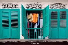 The Window. (Reggie Wan) Tags: architecture singapore asia southeastasia littleindia serangoonroad oldwindow syedalwiroad reggiewan sonya850 sonyalpha850 gettyimagessingaporeq1