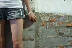 兔X2 (lovelyivan) Tags: friends portrait people girl asia sony taiwan contax kaohsiung 台灣 高雄 女孩 人像 兔兔 carlzeiss 亞洲 planar452g nex5 玥君新祕 豆皮文藝中心