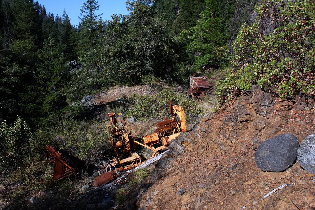 Yesteryear Gold Mining Equipment -- Trinity Alps