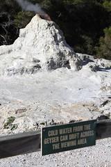 New Zealand: Wai-O-Tapu Thermal Wonderland (eliduke) Tags: newzealand sign nz geyser geothermal thermal waiotapu ladyknox