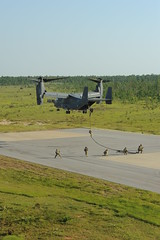 CV-22 Fast Rope (AFSpecOpsCmd) Tags: force military air special operations gunship commandos ac130 cv22 tatcis