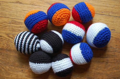 crocheted BALLZ!