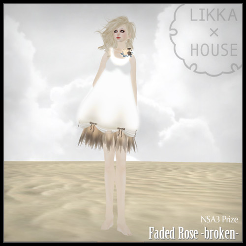 Faded Rose - broken by Cherokeeh Asteria