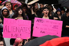IMG_5410_SlutWalk_NYC_2011_10_1 (Phillip Stearns) Tags: nyc signs newyork slut rally rape demonstration rights posters feminism gothamist activism unionsquare gender equality stoprape 2011 slutwalk endrape