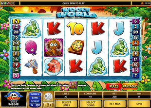 Wooly World slot game online review