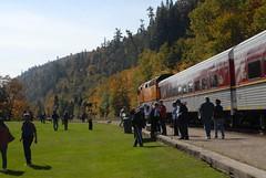 DSD_7749 (Greying_Geezer) Tags: autumn ontario canada fall colors colours scenic trains autumncolours railways railroads saultstemarie on algoma agawacanyon traintour