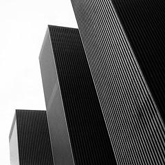 Avenue of the Americas (Adam Garelick) Tags: street city nyc newyorkcity blackandwhite film monochrome 35mm manhattan nikonfm3a
