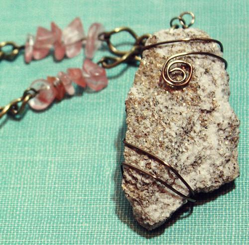 rock pendant