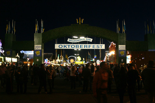 Oktoberfest 2011 - Eingang
