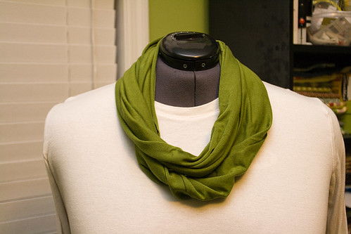 2 Minute Infinity Scarf