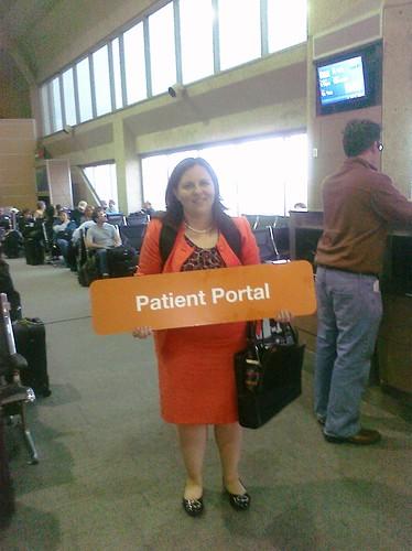 I am a patient portal