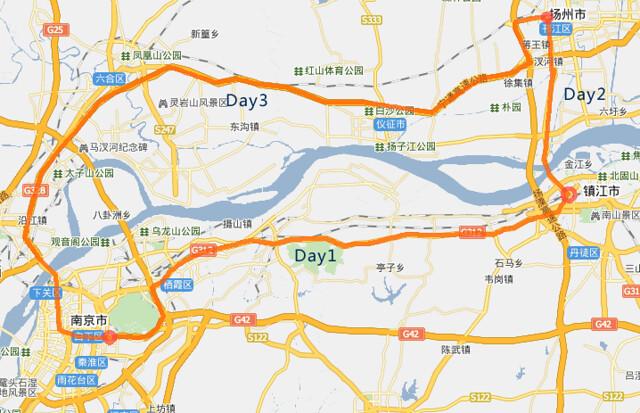 南京-镇江-扬州