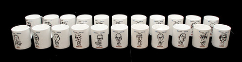 Caricatures printed on mugs for Fisher Scientific - 9