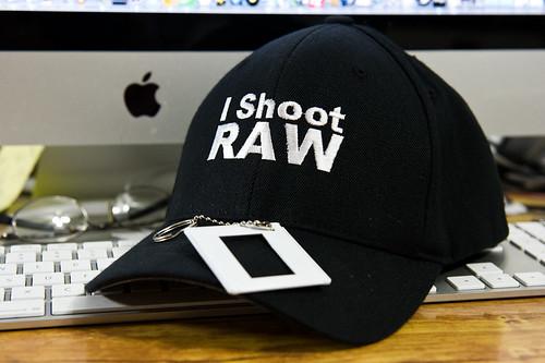 I Shoot RAW Fittied Baseball HAT