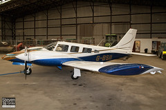 G-BSII - 34-8070336 - Private - Piper PA-34-200T Seneca II - 110709 - Fowlmere - Steven Gray - IMG_4945