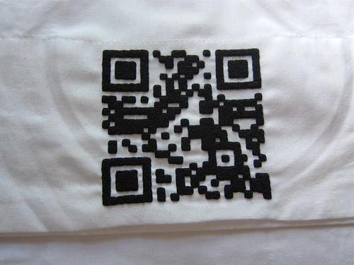 QR Lullaby Pillowcase