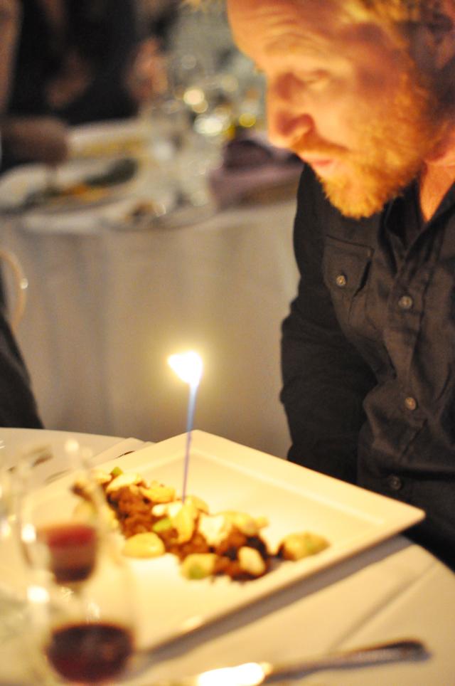 chad's birthday dessert
