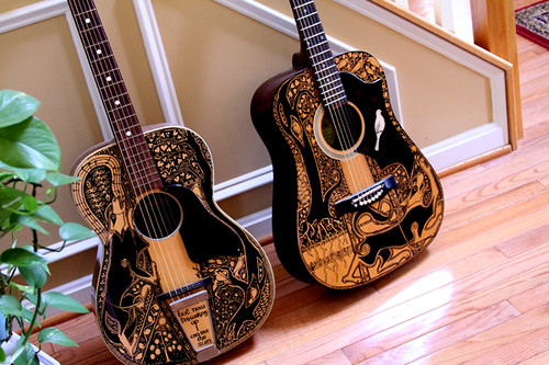 The Sharpie Guitars