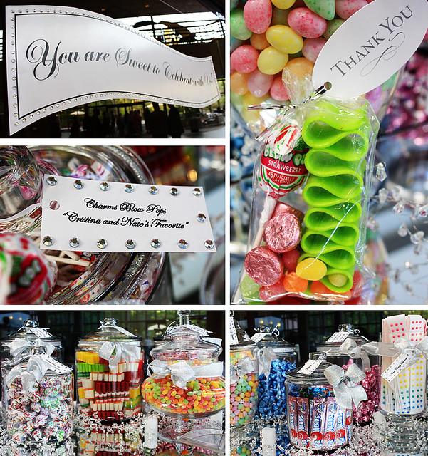 candy bar collage