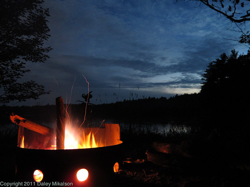 Fire and night