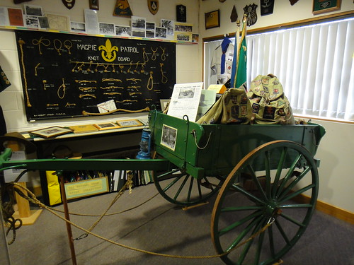 Trek Cart by Tasmanian Scout Heritage Centre