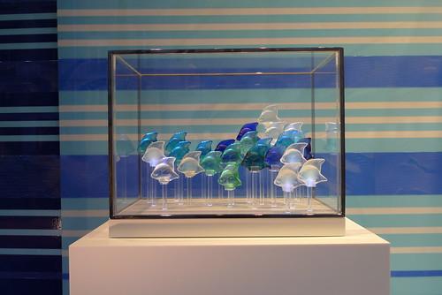 Vitrines Lalique par Stéphanie Moisan- Paris, juillet 2011