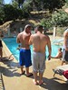 Party at Ray and Armando's (CAHairyBear) Tags: party shirtless man men uomo mann hombre manner homme poolparty hom