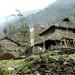 Casas feitas de pedra