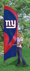 New York Giants Tall Feather Flag