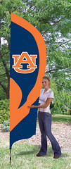 Auburn Tall Feather Flag