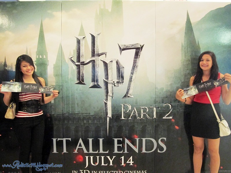 Harry Potter 7 Deathly Hallows Part 2 Movie Premier