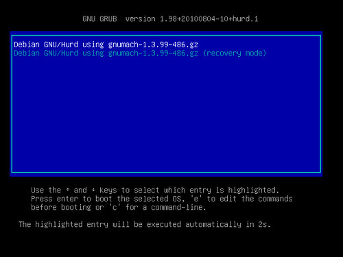 Debian GNU/Hurd grafikus telepítő #44