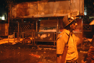 Dadar blast site