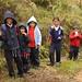 Crianças nas montanhas da Venezuela