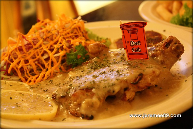 Post Cafe @ Carnarvon Street -  Honey Lemon Chicken