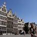 As famosas fachadas belgas e holandesas