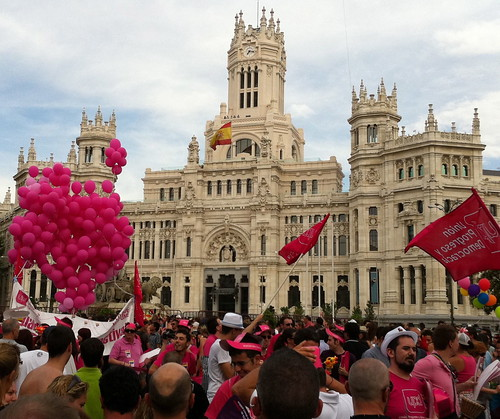 Madrid Pride Balloons (Photo: Stuart Baur)