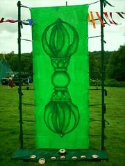 Ritual Space Green Vajra