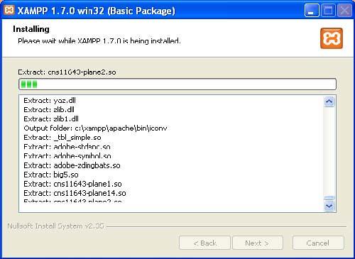 Xampp Proses Install