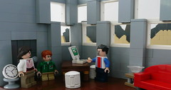The Metro: Beginnings. (Part 2) (Lego Junkie.) Tags: plant canada power lego metro nuclear boom fallout 2033