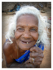 Old woman (Children are the Future) Tags: old woman india smile