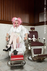 Classwork (gloomth) Tags: white socks clothing shoes uniform gothic goth mint creepy nurse mansion legwarmers tuk shiro sundress housecoat otks gloomth