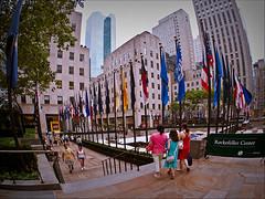 Rockefeller Centre - LR3-7118754-web (David Norfolk) Tags: newyork unitedstates olympus newyorkstate e3 1260mm sanjuanhillnewyork west47thstreetsanjuanhillnewyorknewyorkstateunite