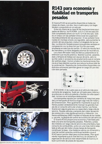 Catàleg camió Scania