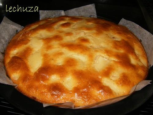 Tarta de peras-hecha