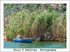 Boats of Dalyan,Mugla-Turkey (CTPPIX.com) Tags: trees sea vacation woman mer canon turkey river eos boat tour urlaub turkiye ct 7d rowing ctp deniz sandal dalyan turchia tatil tekne mugla caunos koycegiz kaunos sazlik ctpehlivan christpehlivan ctppix ctppixcom christpehlivanphotography cipuratur