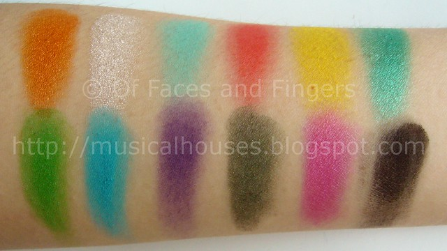 sleek curacao palette swatch