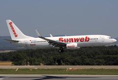 XL Airways (Sunweb) B737-8Q8 D-AXLE GRO 05/07/2011 (jordi757) Tags: nikon airplanes girona boeing xl costabrava 737 avions d300 b737800 daxle xlairways sunweb
